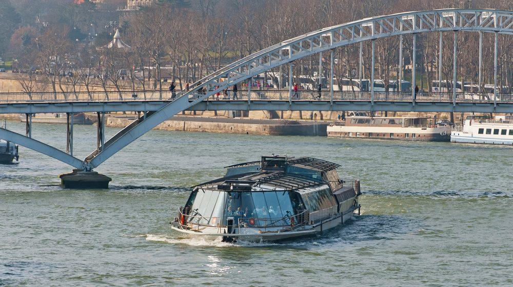 Bateaux Parisiens - Déjeuner Croisière et ponts de Paris