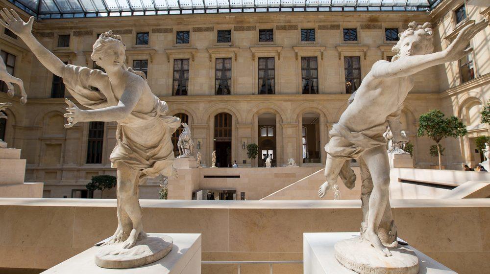 Musée du Louvre - Des Statues