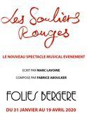 Affiche Les Souliers Rouges aux Folies Bergère