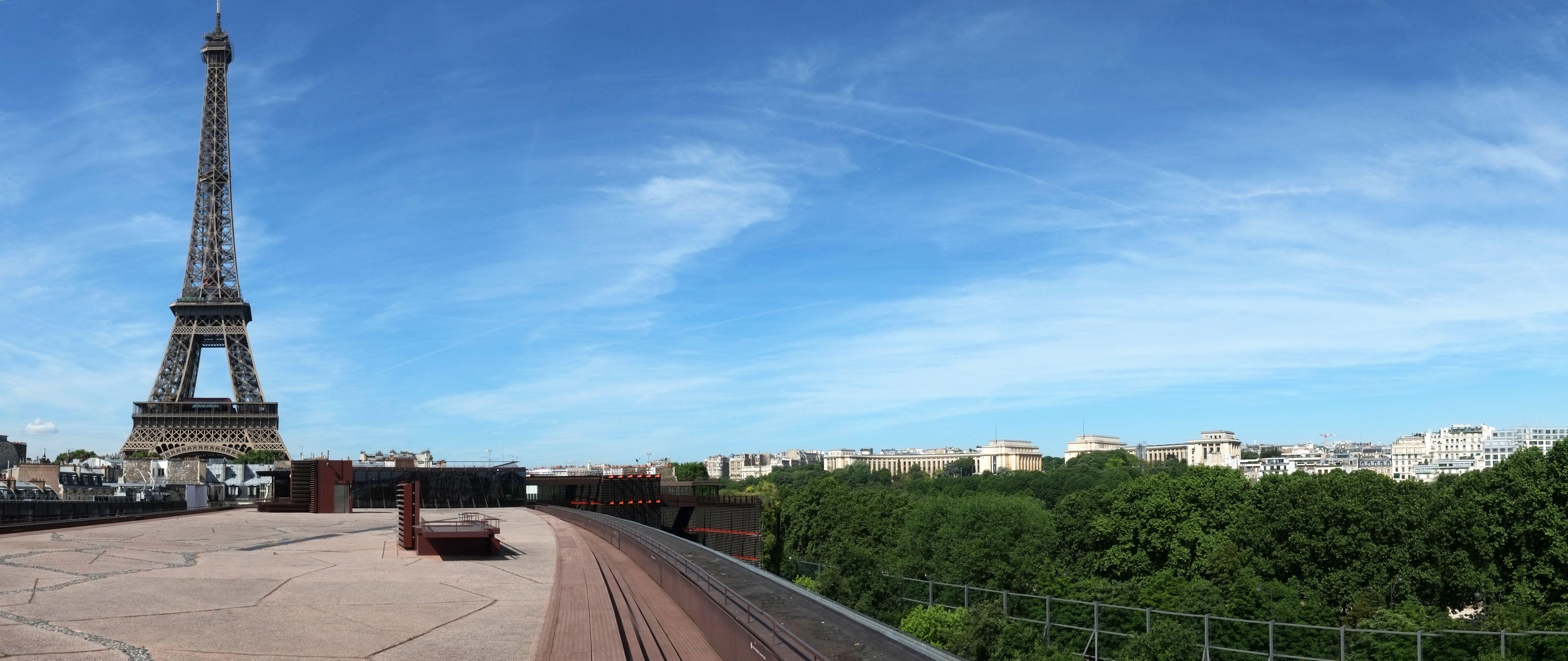Vue de la Terrasse Panoramique du Musée du quai Branly - Jacques Chirac