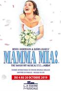 Affiche Mamma Mia!, le musical à la Seine Musicale
