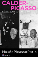 Affiche Exposition Temporaire Calder-Picasso au Musée Picasso de Paris