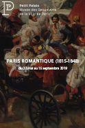 Affiche Exposition Temporaire Paris Romantique au Petit Palais à Paris