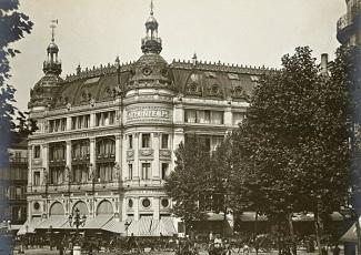 Histoire du magasin printemps haussmann come to paris - Meubles printemps haussmann ...